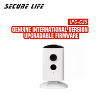 original English with logo IPC C35 indoor security network mini PT cctv camera 3mp baby monitor built in mic speaker