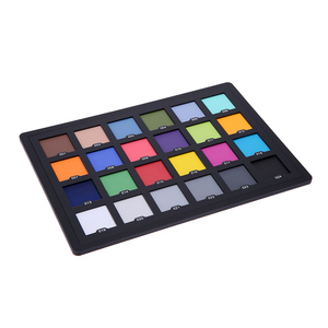 Image 4 - Fotografiaプロフェッショナル24色テストバランスチェッカーカードパレットボードカードデジタルカラー補正写真撮影アクセサリー