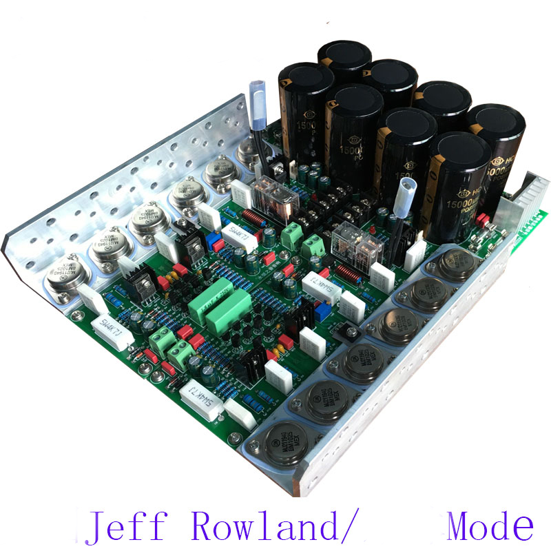 Cloning of Jeff Rowland / HIFI high fidelity high power class A B AMP rear power amplifier board name machine b 108 circuit no big loop negative feedback pure post amplifier hifi fever grade high power 12 tubes