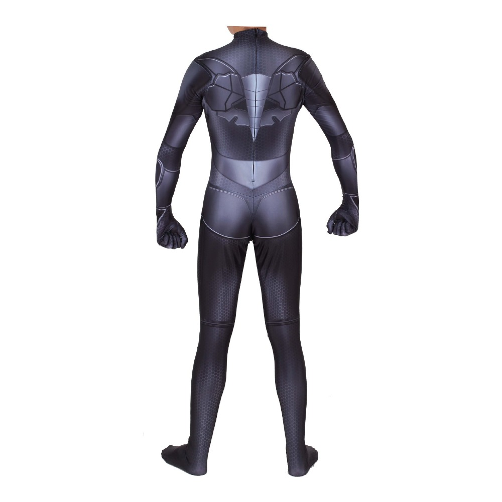 Batman Bruce Wayne Suit Zentai Cosplay Costume Bodysuit Jumpsuit Rompers in Movie TV costumes from Novelty Special Use