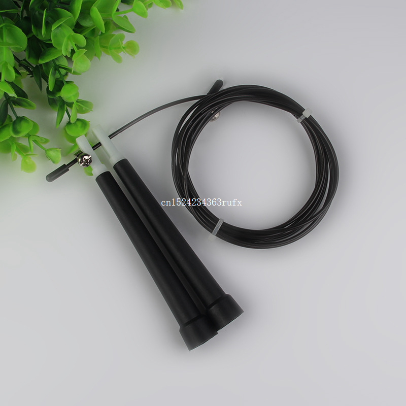 300pcs 3M Single Skipping Rope Party Favors Adjustable Jump Jumping Rope Speed Cable Wire 5 Colors Optional Metal Gym Euipment