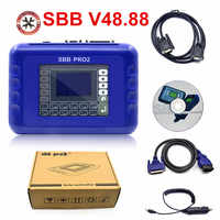 SBB Pro2 V48.88 Key Programmer Newest SBB V48.88 Support New Cars Support G Chip No Token Limitation with Multilanguages