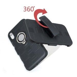 Image 3 - Бронированный чехол для телефона для защиты четырех углов, противоударный чехол для iPhone XR XS MAX 6 7 8 plus, задняя крышка из ТПУ с подставкой, оболочка