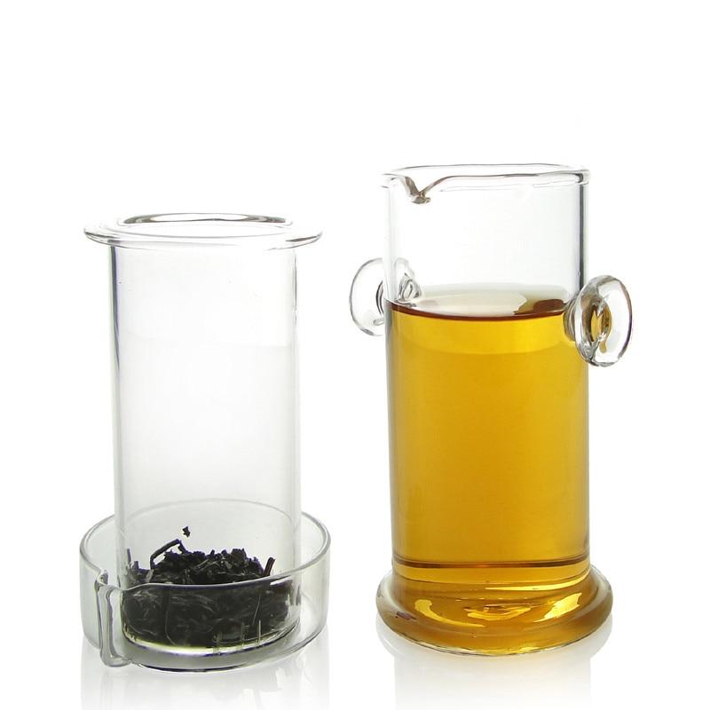 Ny 220ML varmebestandig glas tepot kinesisk Kung Fu blomster tekande - Køkken, spisestue og bar - Foto 3