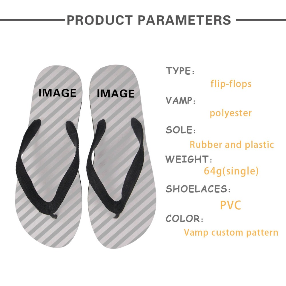 WHEREISTAR 2019 Women Summer Flip Flops for Ladies 3D Pattern Print Fashion Casual Design Flat Slippers Shoes Anti Slip Indoor in Flip Flops from Shoes