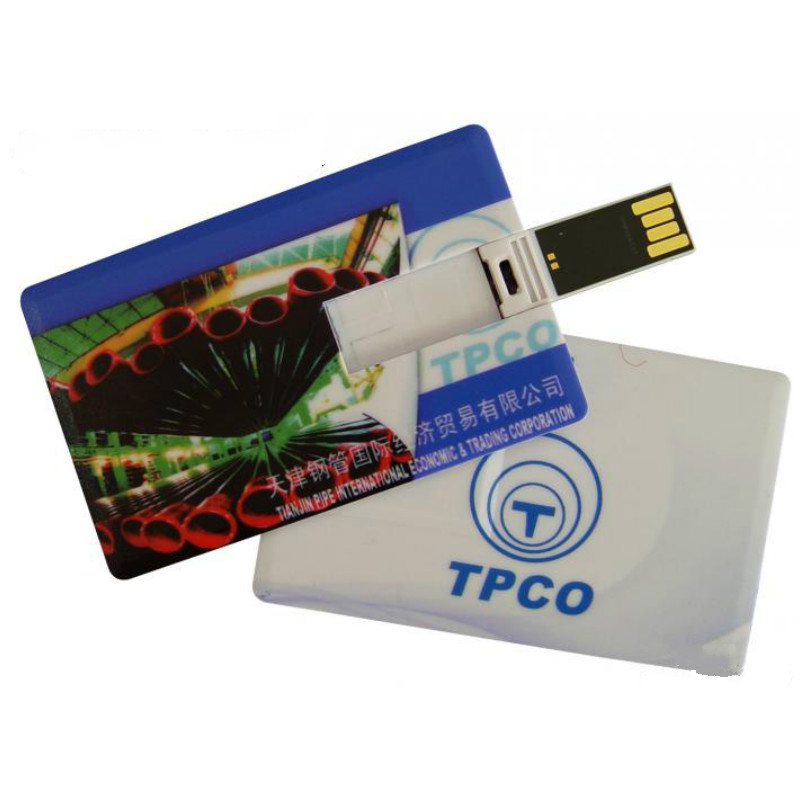 New Creative Name Card Credit Card USB Flash Drive 2.0 Print Custom Personalize Logo 1G/2G/4G/8G/16G/32G/64G For Wholesale