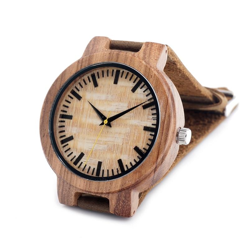 2017 BOBO BIRD Brand Luxury Watch Men Genuine Leather Band Outdoor Casual Wristwatches Relogio Masculino Gifts C-C20