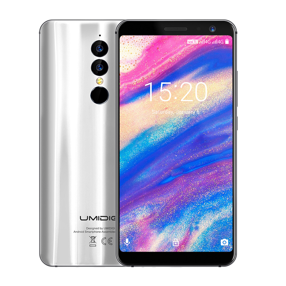 UMIDIGI A1 Pro 4g Smartphone 5,5 zoll Android 8.1 Phablet MTK6739 Quad Core 1,5 ghz 3 gb RAM 16 gb ROM Dual Hinten Kameras Fingerprint
