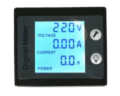 AC 80 to 260V LCD Digital 100A Volt Watt Power Meter Ammeter Voltmeter 110V 220V|meter level|lcd energylcd voltage meter - AliExpress