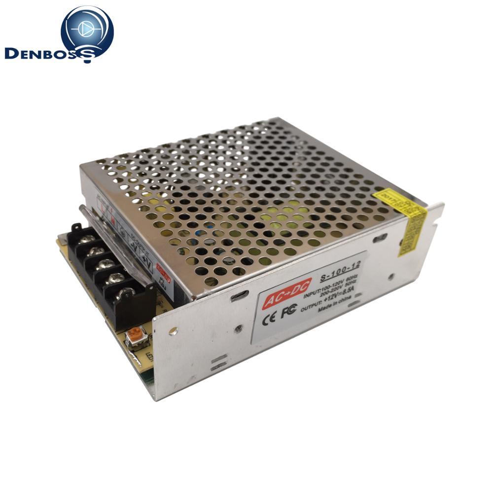 все цены на 6.5A 8.5A 220V 110V AC to DC 12V Switching Power Supply Lighting Transformer PWM 80W 100W LED Adapter Driver for LED Strip