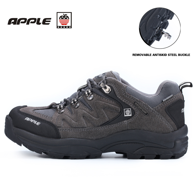 Apple mens and women's hiking shoes waterproof shockproof silp trekking winter sneakers for men outventure outdoor sports shoes avc data1551b4l 17250 24v line server electronic enclosures fan