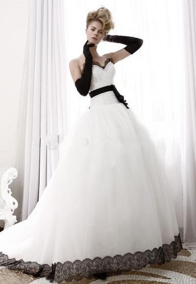Tulle Lace Gothic Ball Gown Wedding Dress Plus Size Corset Cheap ...