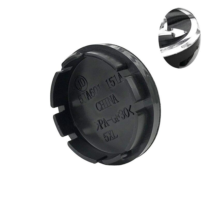 20pcs/lot 56mm Black silver Car Wheel Hub Caps Center Cover For Skoda Octavia Fabia Superb Rapid Yeti #5JA601151A