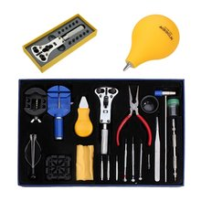 Best Promotion 23Pcs Watch Repair Tool Kit Set Case Opener Link Pin/Wrench Remover/Dust Blower Hot