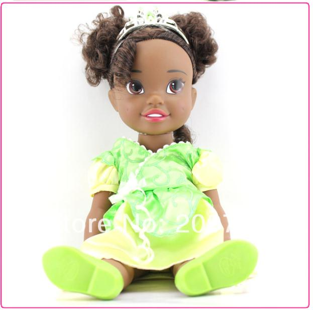 My first fairy tales princess toddler doll princess tiana doll gift my first fairy tales princess toddler doll princess tiana doll gift for girls baby toy 34cm loose in dolls from toys hobbies on aliexpress alibaba thecheapjerseys Images