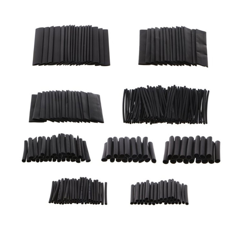 328pcs Heat Shrink Tubing Tube Assortment Wire Cable Insulation Sleeving Kit