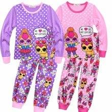 002a4bbd8 VENDA QUENTE crianças pijama define Bebê roupas de menina sweet dreams  pijamas meninas dos desenhos animados