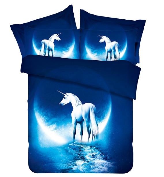 Moon Horse Beddengoed set California King queen dubbele maat - Thuis textiel