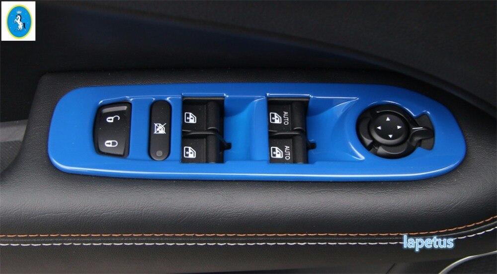4x Ventana Interruptor Panel Botón Cover Set Para Porsche PANAMERA MACAN