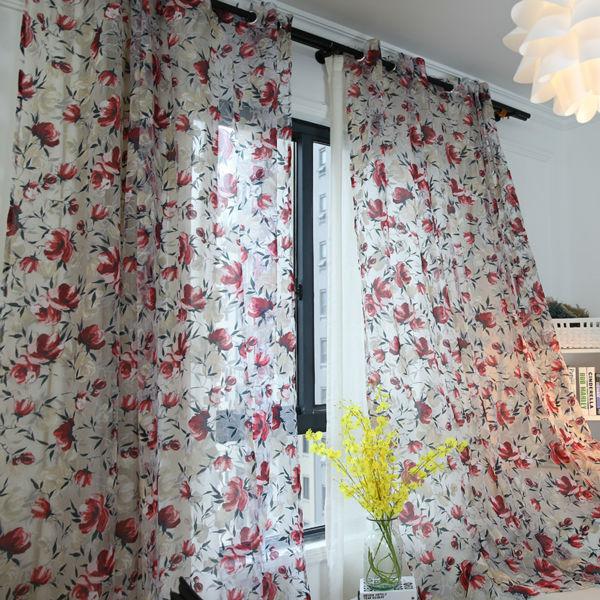 Floreale tessuto della tenda acquista a poco prezzo floreale ...