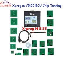 Лучшие продажи XPROG-M 5,74 X Prog M Box V5.55 Авто ecu чип-тюнинг программист Xprogm 5,84 Xprog 5,55 Xprog5.55 лучше, чем xprog5.50
