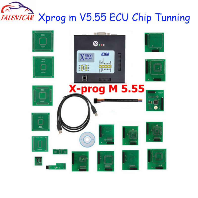 Top Sale XPROG-M 5.74 X Prog M Box V5.55 Auto ECU Chip Tuning Programmer Xprogm 5.84 Xprog 5.55 Xprog5.55 better than xprog5.50