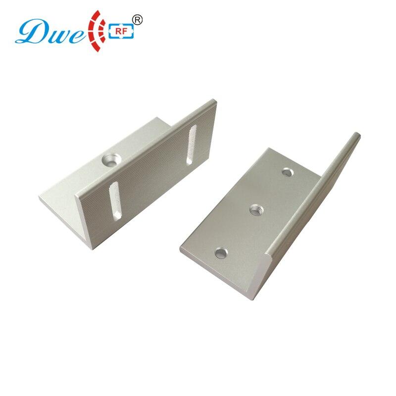 Access control door lock bracket Z magnetic electromagnetic lock bracket for 70kg цена 2017