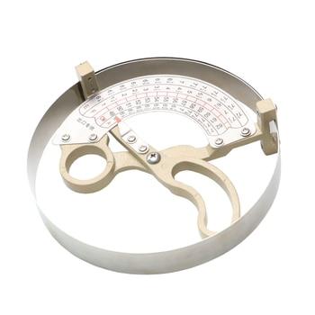 42-70CM Stainless Steel Scissor Type Ring Compass Cap Size Measuring Tool Ruler Hat Caliper