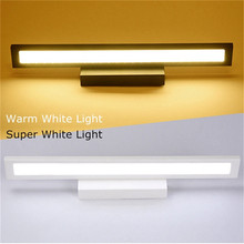 25cm 5W 25smd LED Mirror Light Wall Lamp irror-Front Make Up Bathroom Vanity Light Acrylic mas Waterproof 85-265V(China)
