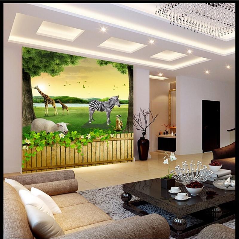 beibehang 3d foto tapeten wohnkultur hintergrund schlafzimmer wohnzimmer tier natur wand mural tapete fr wnde 3 - Natur Wand Im Wohnzimmer