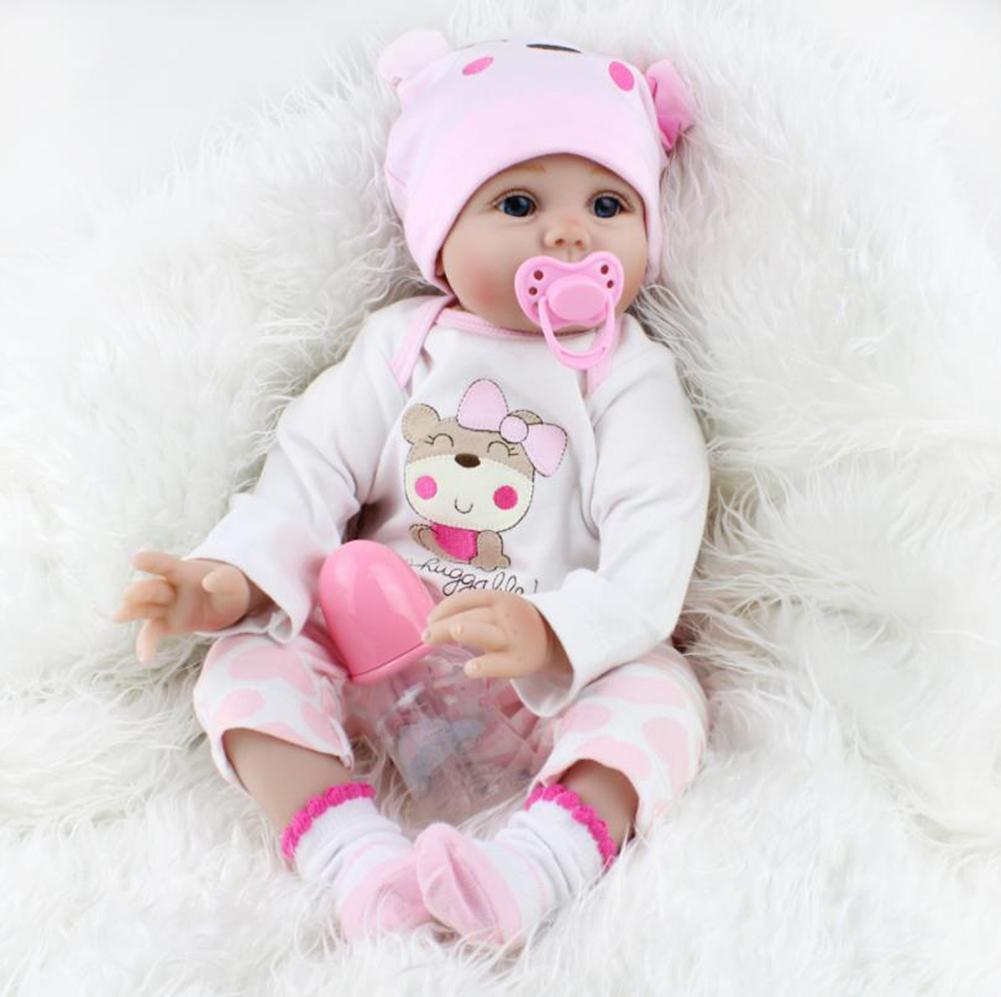 New 20inch Lovely Handmade Lifelike PP Cotton Newborn Reborn Girls Baby Doll Toy New 20inch Lovely Handmade Lifelike PP Cotton Newborn Reborn Girls Baby Doll Toy