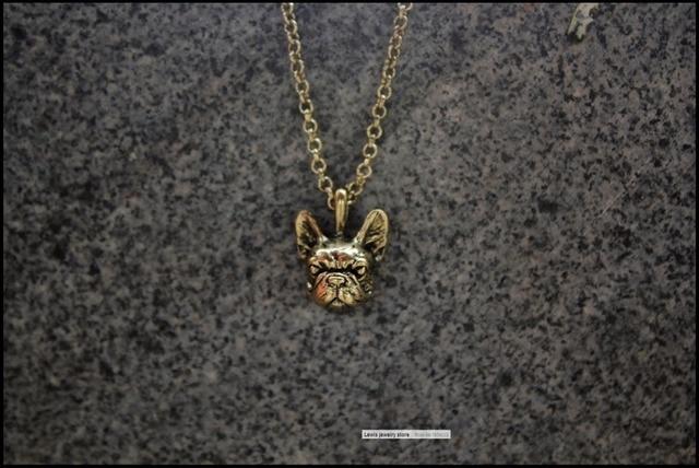 Купить ожерелье в стиле ретро хиппи французский бульдог панк украшения