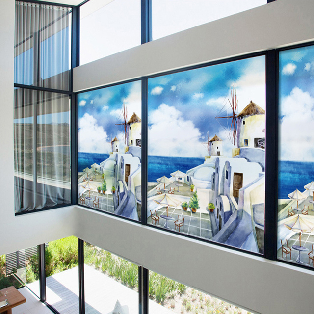 2017 kleur windows stickers balkon vensterbank slaapkamer ...