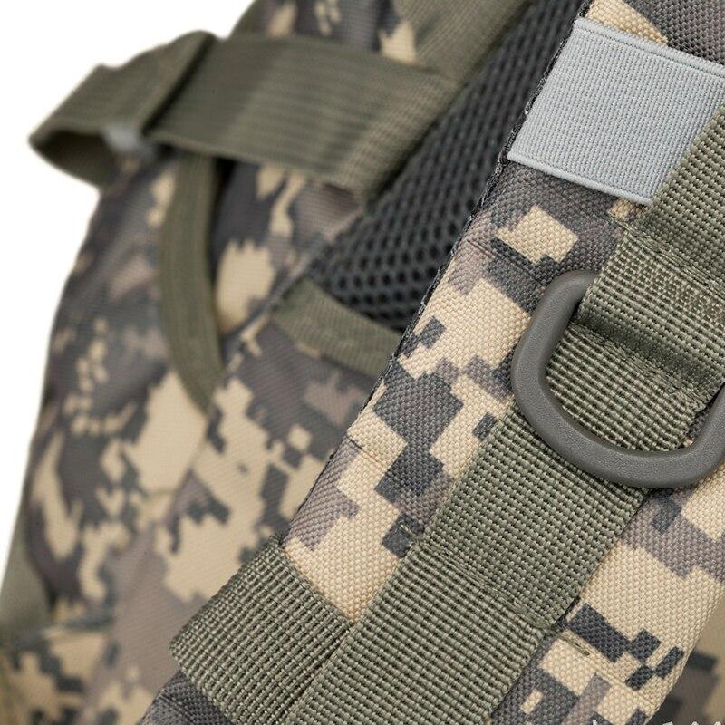 Sac à dos militaire tactique Molle Camouflage sac à bandoulière Camp voyage sacs en plein air - 6