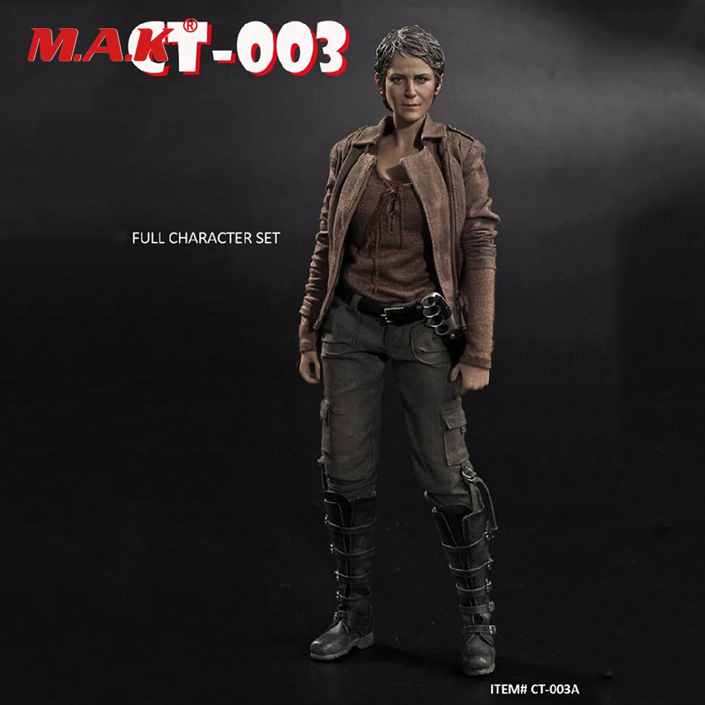 The Walking Dead Female Charecter Clothes Set Accessory & Head for 1/6 Scale Female Action Figure Body 1 6 scale the walking dead negan full set action figures body