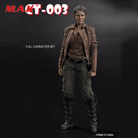 The Walking Dead Female Charecter Clothes Set Accessory & Head for 1/6 Scale Female Action Figure Body