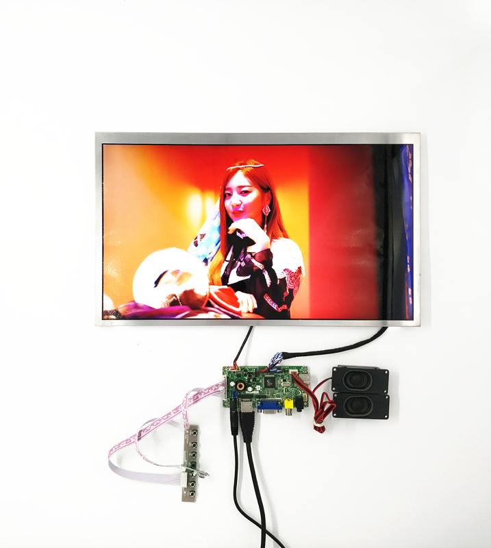 lcd controller board support HDMI+VGA +audio driver 15.6 inch LCD kits with 1920*1080,300 cd цена