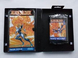 Image 3 - Md jogo: soldado alienígena (versão japão! Caixa + manual + cartucho!)