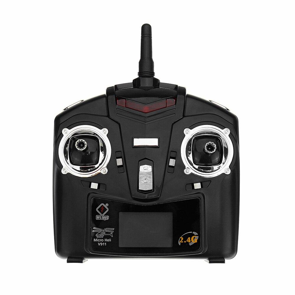 (С 3 батареями) Новая Популярная игрушка WLtoys V911S 2,4G 4CH 6 Aixs Gyro Flybarless RC вертолет RTF для начинающих детская игрушка - 4
