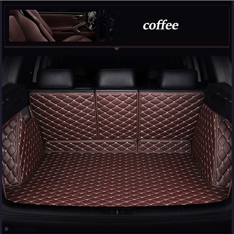 Leather car trunk mat for Honda Accord FIT CITY CR V XR V Odyssey Element Pilot