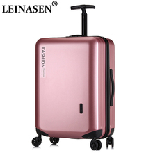 цена на LEINASEN Popular fashion rolling luggage 18 20 22 24 26 inch brand carry on box men travel suitcase women  trolley lugga