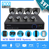 CCTV 8 Channel 960h Dvr 900TVL IR Cut Camera Kit 1tb Hdd HDMI 1080P NVR HVR