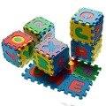NOVA 36 Pcs Best Selling Infantil Mini Alfabeto Letras Números de Espuma Esteira do Jogo Jigsaw Puzzle Crianças Chlidren Brinquedo Matemática Educacional presente