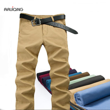 Spring men's clothing male straight male slim pants fashion trousers casual pants