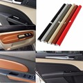 150 x 50cm Leather Texture Vinyl Car Sticker Decal Sheet Film Decor Car Beige Silver Brown Red Gray Black