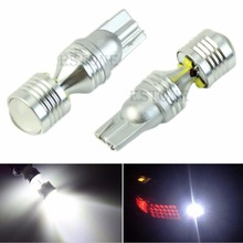 цена на 12V High Power 30W T10 LED Bulbs For Car Backup Reverse Lights