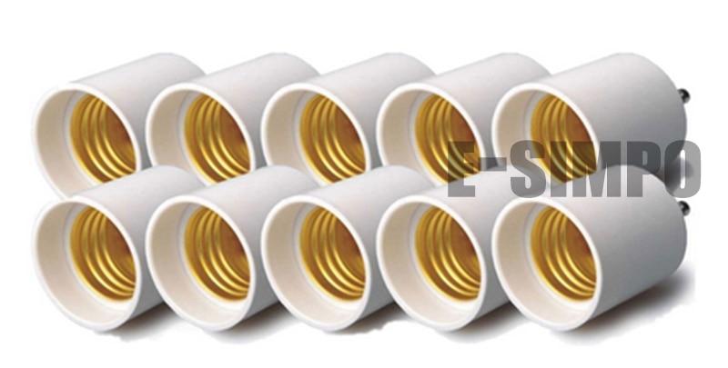 Gu24 To E26/e27 Light Socket Adapter 2 Prong CFL Base To Standard Medium Bulb Base Adapter CE Rohs Gu24 To E27 Converter