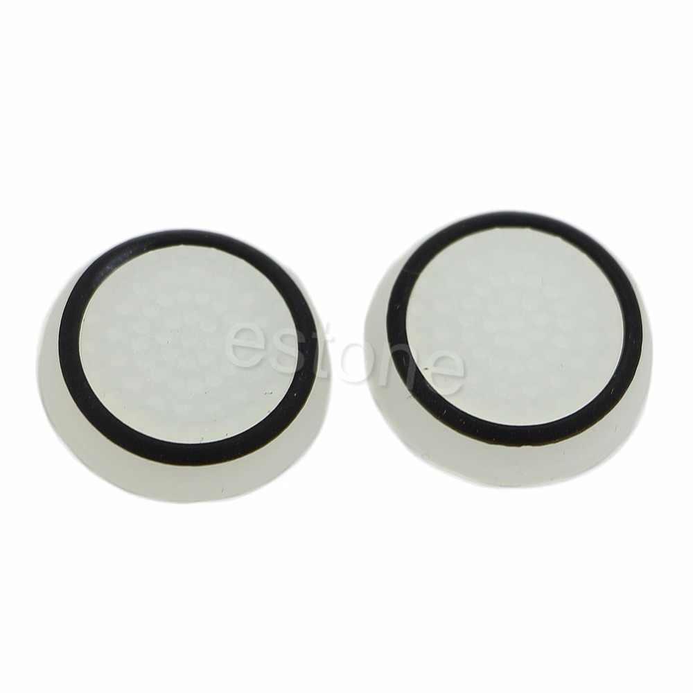 1 セット 2pc サムスティックキャップカバーアナログ 360 コントローラ親指スティックグリップため PS4 XBOX ONE