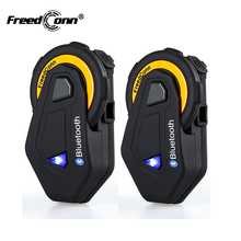 2Pcs Intercom FreedConn T-MAX intercomunicadores de casco moto helmet bluetooth headset intercomunicador motorcycle 1500M