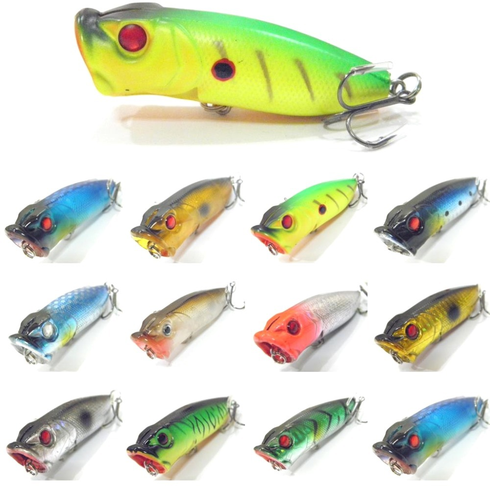 wLure 7cm 12.3g Middle Range Casting Loud Rattling Gill Slot with more Water Splash Popper Lure for Bass Fishing T605 gill hasson positive thinking